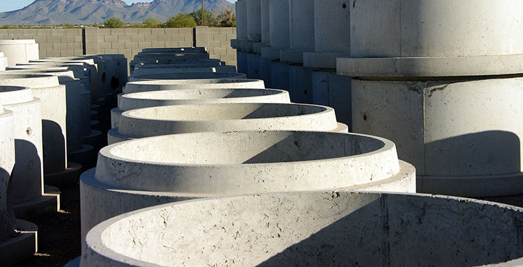 Camine si tuburi din beton armat