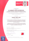 Certificat OHSAS 18001